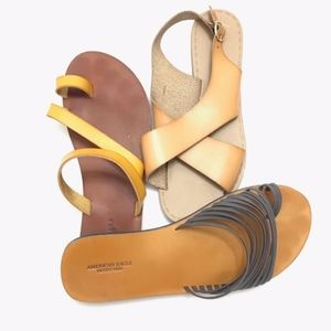 Urban Outfitters Gap Sandals 3 Pairs